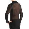 Aclima M's Woolnet Shirt Crew Neck Black